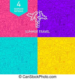 Line Summer Travel Patterns