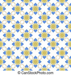 line thai traditional seamless pattern background,
