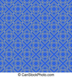 line thai traditional seamless pattern background