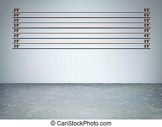 Line up grunge - Background of a police lineup, vector ...
