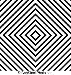 linea, fondo, geometrico, astratto, rombo