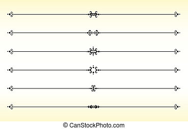 linea, separators