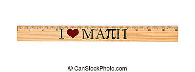 lineal, liebe, mathe