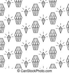 Linear diamond seamless pattern wrap. - Linear diamond...