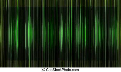 Linear gradient green