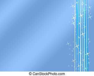 Linear Design Graphics Luminescent Abstract Blue Background