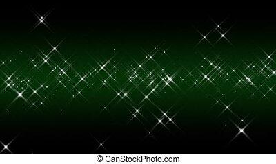 Linear Starburst Green Loop