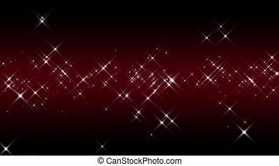 Linear Starburst Red Loop
