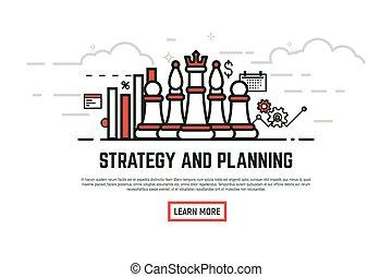 Linear strategy illustration