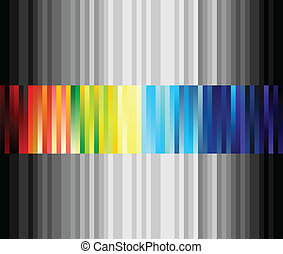 Linear structure in the form of a strip colour. A vector illustration