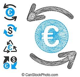 Linear Update Euro Balance Vector Mesh