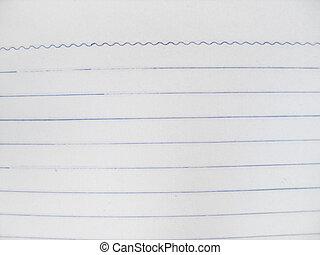 Plain lined paper texture.