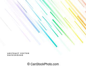 linee bianche, fondo, colorito