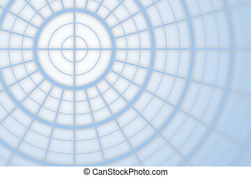 linee blu, e, cerchi, fondo