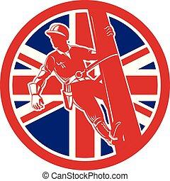 lineman climbingwormview CIRC UK-FLAG-ICON