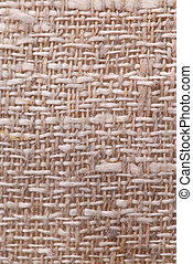 Linen fabric texture - Closeup of a rustic linen fabric...