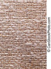 Linen fabric texture - Closeup of a rustic linen fabric...
