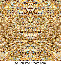 Linen fringes taken closeup.Abstract background.