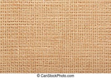 Linen, natural beige background