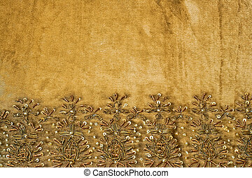 Linen ornament - Beautiful table cloth linen with ornament ...