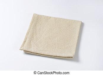 Linen place mat - Small folded linen place mat