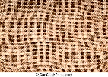 closeup of a linen fabric as a texture background