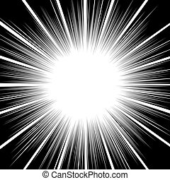 lines abstract design. star burst effect background.