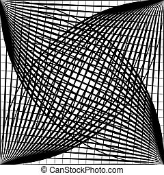Lines blend object