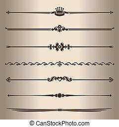 lines., dekorativ