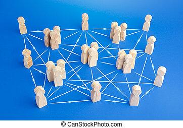lines., direct, sans, beaucoup, communication, compagnie, autonomy., peu conventionnel, gens, distribution, meritocracy, connecté, entre, structure, responsabilités, bureaucracy., employés