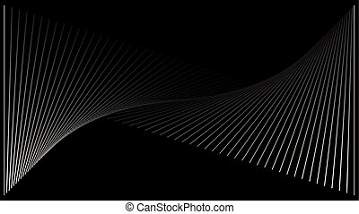 Lines frequency background texture