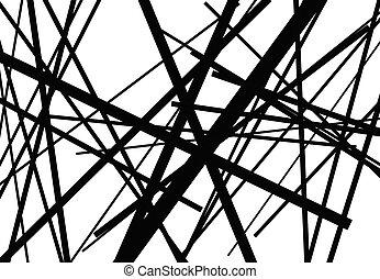 lines., geometrisch, überfahrt, linien, kreuzen, ...