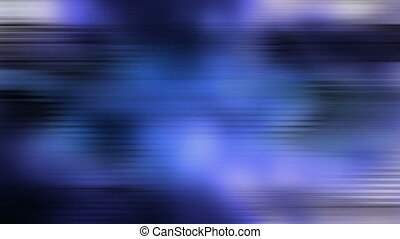 Lines glitch feedback blue black abstraction looping...