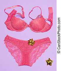 Lingerie as gift for woman