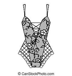 lingerie., body.