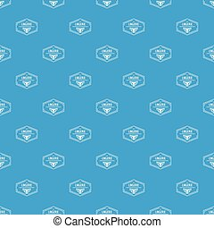 Lingerie body pattern vector seamless blue