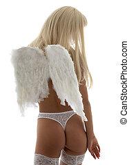 lingerie, engel