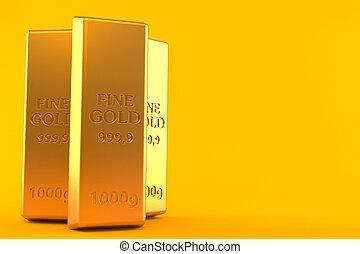 lingotes, oro