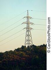 linha, elétrico