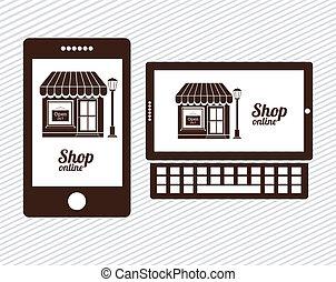 linha, loja