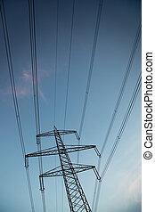 linha, poder elétrico