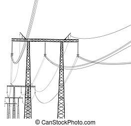 linha transmissão