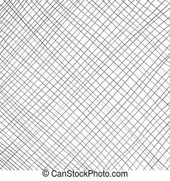 linha, vetorial, ilustração