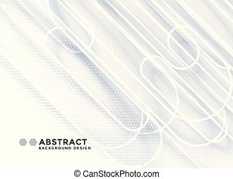linhas, abstratos, apresentação, fundo branco