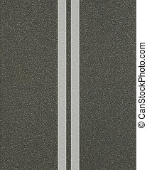 linhas, asfalto, textura