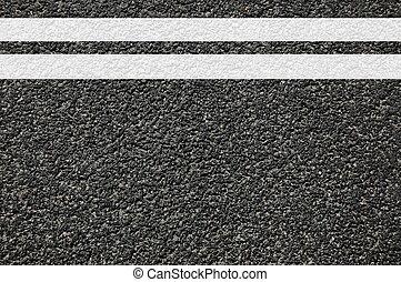 linhas, estrada, textura