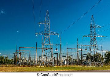 linhas, poder elétrico