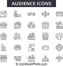 linie, beweglich, signs., web, publikum, grobdarstellung, ...