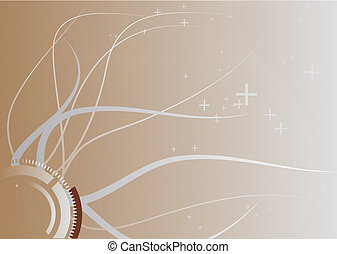 linien, hintergrund, abstrakt