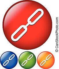 link, corrente, ícone